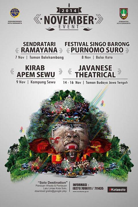 Jadwal Event Kota Solo Bulan November 2014