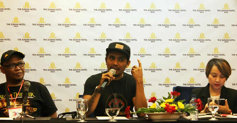 THE SUNAN HOTEL SOLO JADI VENUE INDONESIAN TOUR 2015 20 TAHUN GLENN FREDLY