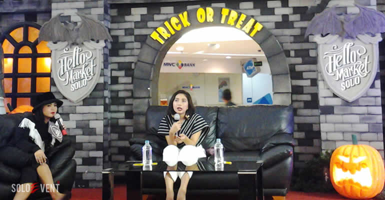 CLARA DEVI BERBAGI TIPS FASHION DI HELLO MARKET