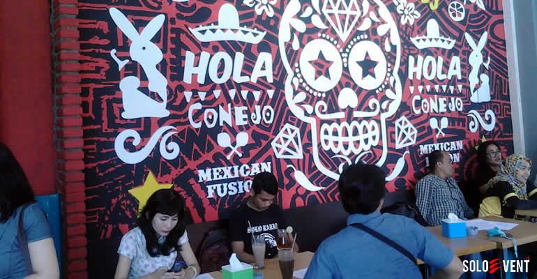 COBAIN KULINER MEKSIKO DI CONEJO MEXICAN FUSION