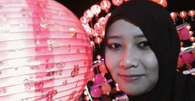 KEPOIN PENGUNJUNG LAMPION PASAR GEDE-IFAH