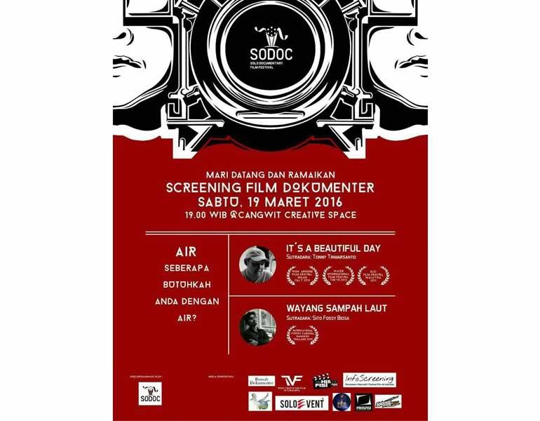 GENDERANG SOLO DOCUMENTARY FILM FESTIVAL MULAI DITABUH