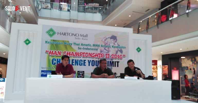 PARA JAGOAN MUAY THAI BAKAL ADU KEKUATAN DI HAN CHAMPIONSHIP II 2016