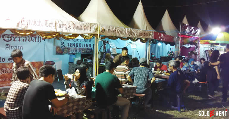 JELAJAH KULINER DI SOLO INDONESIA CULINARY FESTIVAL 2016