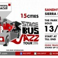STAGE BUS JAZZ TOUR 2016 BAKAL PARKIR DI THE PARK MALL
