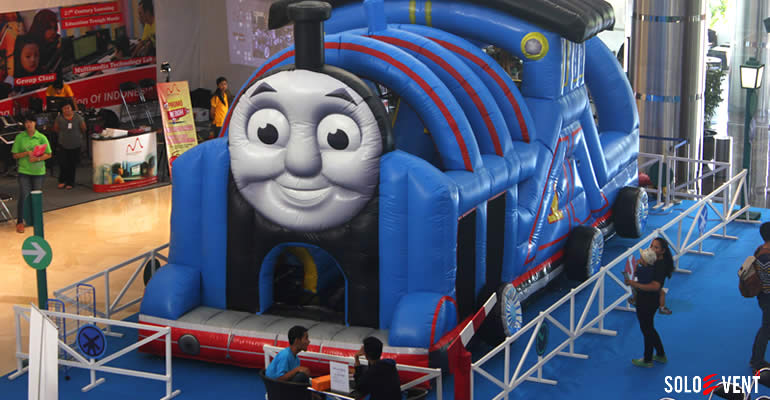 RAYAKAN LIBURAN DI THE PARK MALL BARENG THOMAS & FRIENDS