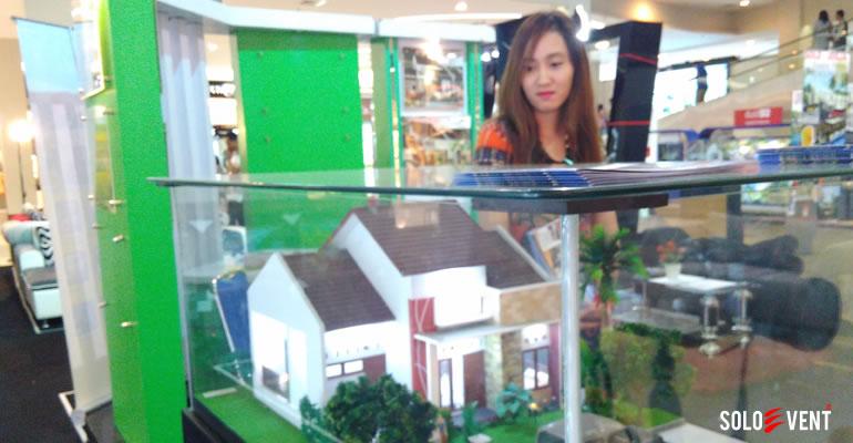 REI (Real Estate Indonesia) ADAKAN PAMERAN PERUMAHAN DI SOLO PARAGON MALL.