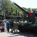 TNI-UNS MILITARY FESTIVAL 2016 PAMERKAN ALUTSISTA DAN KEHEBATAN PRAJURIT TNI PART 1
