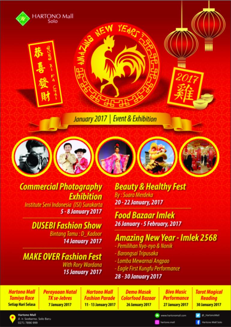 Kalender Event Januari Hartono Mall SoloEvent