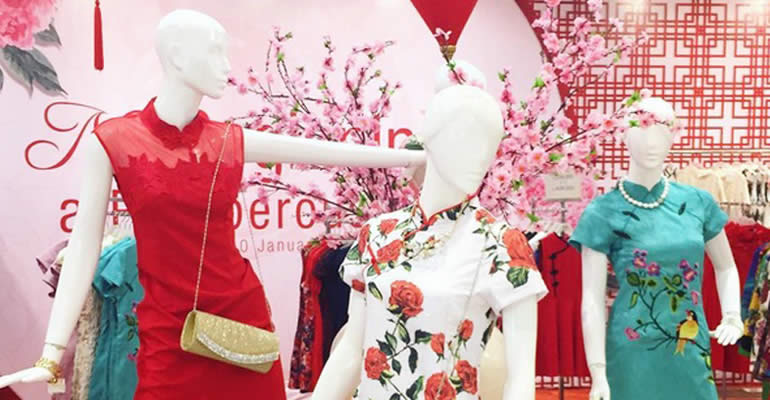 Kebudayaan Cina Klasik Warnai Imlek The Park Mall